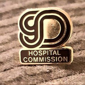 Dartmouth gold Hospital Commersion Pin
